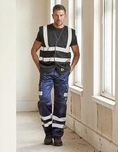 Hi-Vis Top Cool Recycled Open Mesh Waistcoat